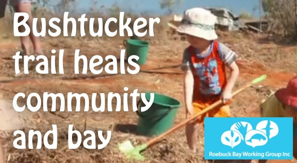 Bushtucker trail heals community and bay
